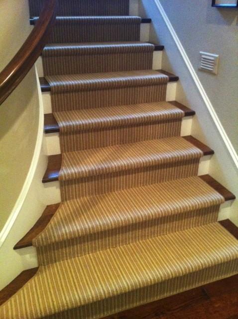 Nice Karastan Jensen Stripe Stair Runner Traditional