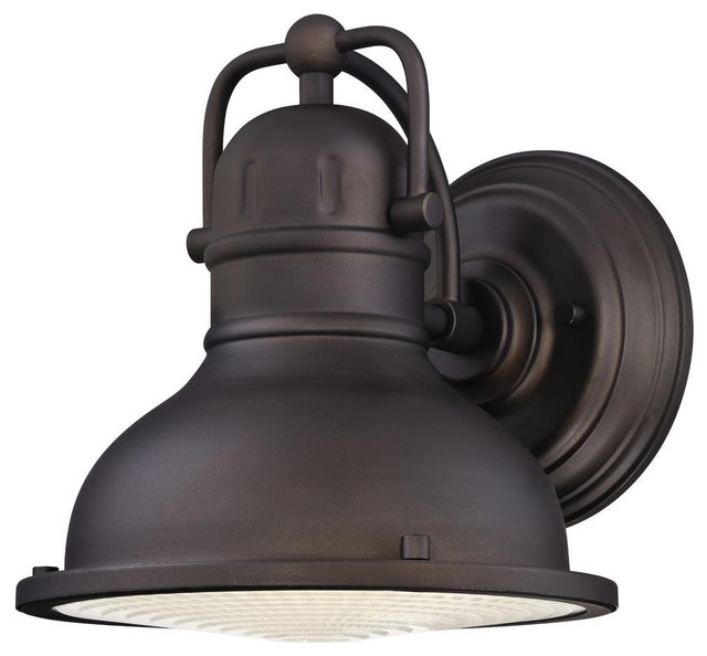 Westinghouse 8w Oil Rubbed Bronze Led Outdoor Wall Lantern.