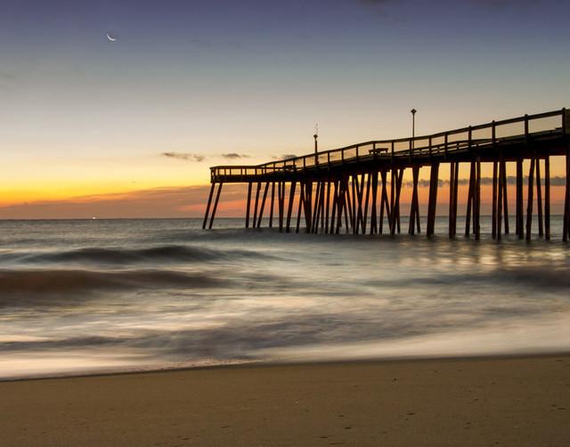 """Motion of the Ocean"" Landscape Photo, Beach Unframed Wall Art Print, 24""x36"""