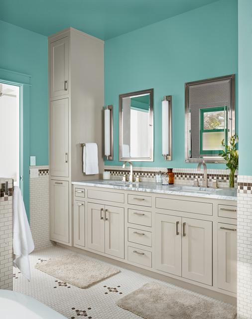 Foster Residence - Casa de campo - Cuarto de baño - Austin ...