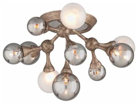 Corbett Lighting 206-311 Element 11 Light Flush Mount Ceiling Fixture.