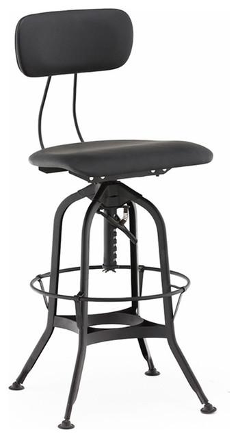 Fabulous Toledo Padded Seat Adjustable High Back Bar Chair 25 29 Short Links Chair Design For Home Short Linksinfo