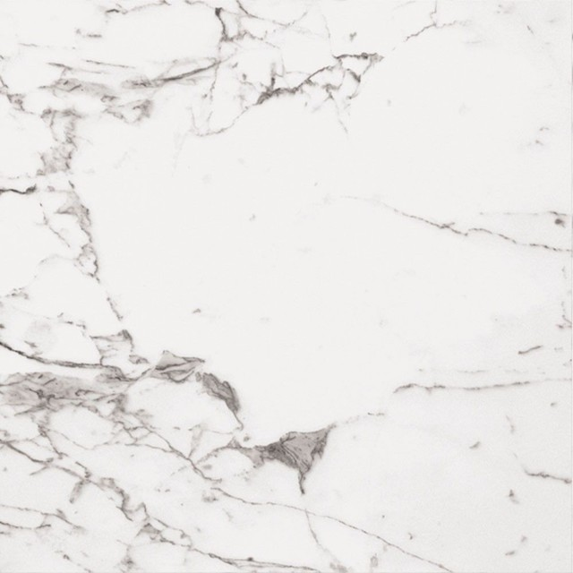 Arabescato Veined White Marble Effect Polished Tiles, 750x750 mm, 1 m2