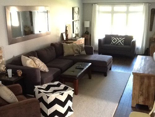 Attractive Family Room Decor And Layout