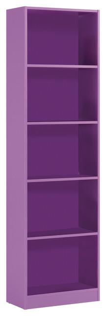 iJoy Bookcase, Purple