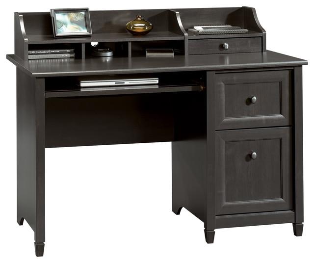 Edge Water Computer Desk, Estate Black.