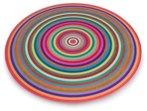 Antony Joseph Coloured Rings Cutting Board