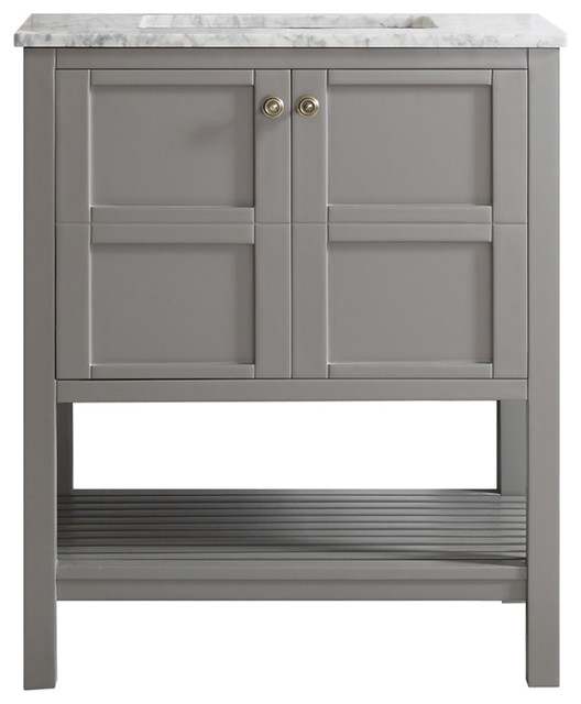 Marvelous Transitional Bathroom Vanities And Sink Consoles by Vinnova