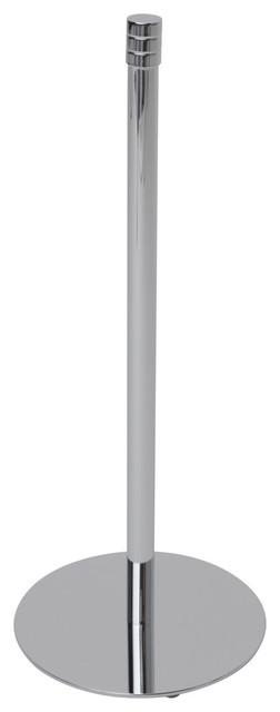 Essentials Free Standing Spare Roll Holder, Satin Nickel