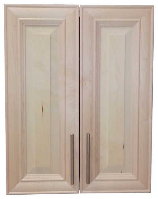 "Edison 34"" 2-Door Recessed Frameless Medicine Cabinet, 2.5"" - Traditional - Medicine Cabinets ..."