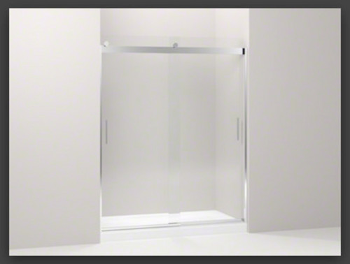 New Kohler Levity Glass Shower Doors.
