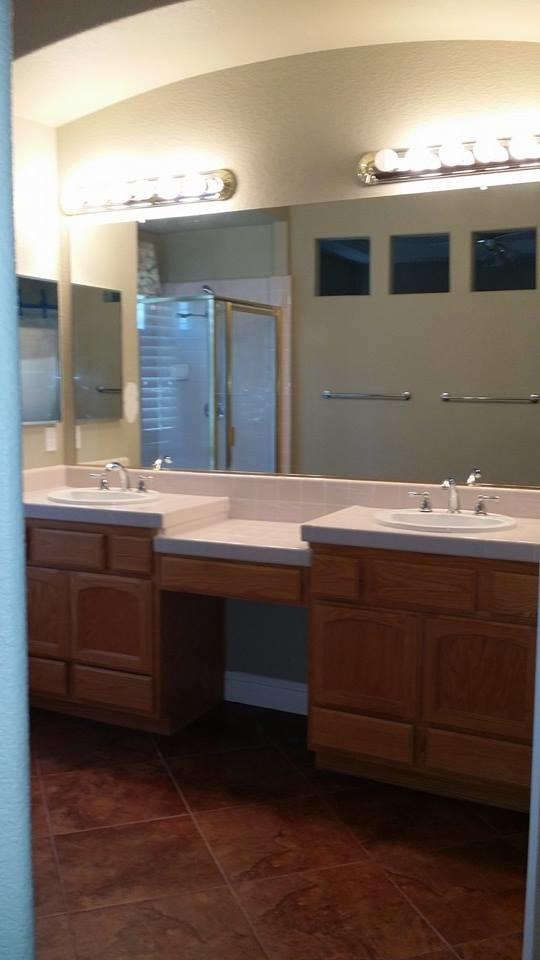 Barrel Vault Vanity + Bathroom Remodel - Transitional ...