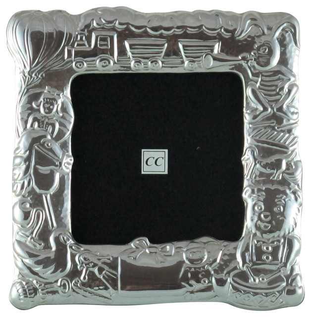 Sterling Silver Picture Frame Baby Traditional Picture Frames