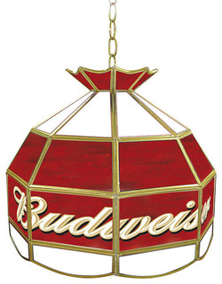 Budweiser Tiffany Lamp Light Fixture - Contemporary - Pendant Lighting - by DCG WholeSale