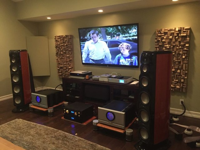 Acoustic Treatment For Entertainment Room