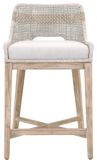 Tapestry Counter Stool Beach Style Bar Stools And