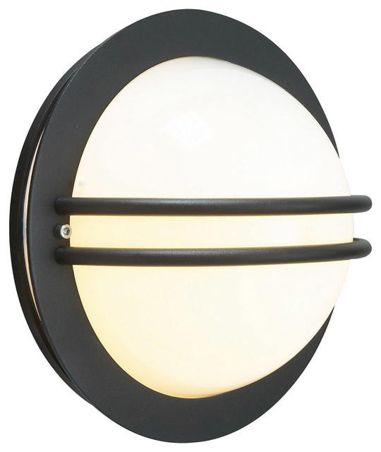 Bremen Wall Lamp, Black Opal