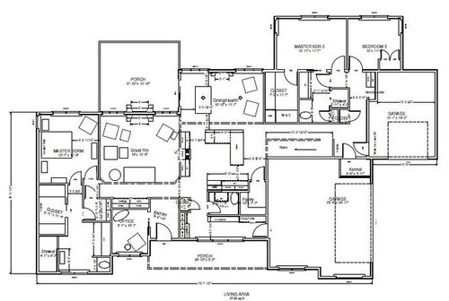 Multi generational house plan for Multigenerational home designs
