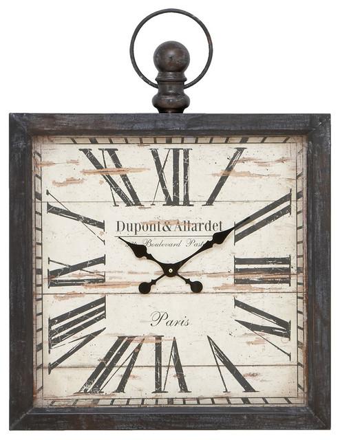 Union Metal Wall Clock