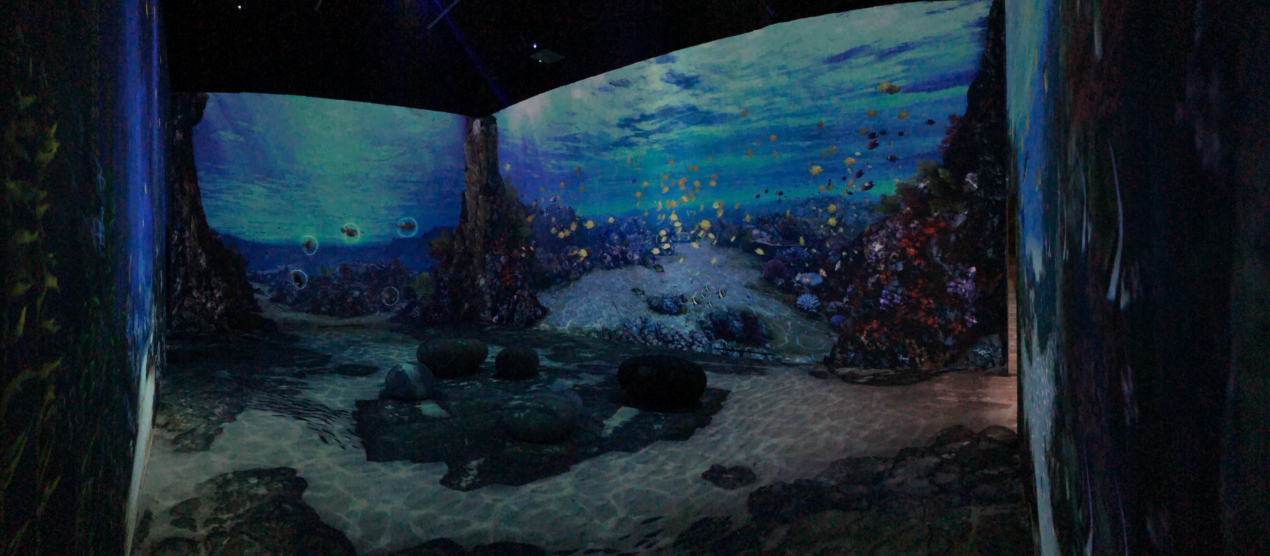 Aquarium virtuel interactif