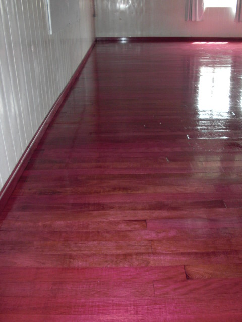 purple heart solid wood floor modern other by simply