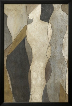 figure overlay i framed art print by megan meagher contemporary prints and