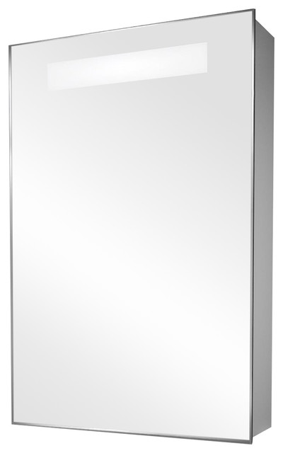 Mirrored Medicine Cabinet With Demister And Led Strip, With Speakers.