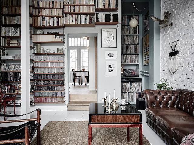 书房细节简欧风格装饰图片