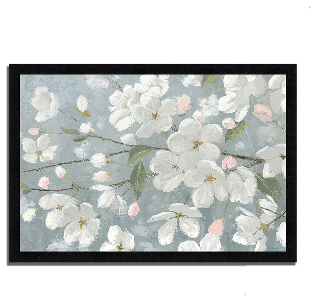 """Houzz Spring Landscaping Trends Study: """"Spring Beautiful"""" By James Wiens, Framed Painting Print"""