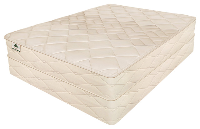 "White Night 10"" Natural Latex Mattress, California King."