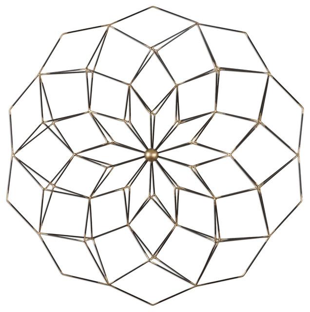 Uttermost Dorrin Geometric Fl Art
