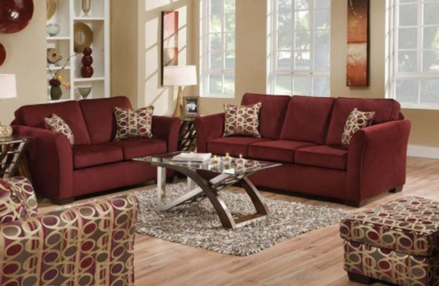 3 Piece Living Room Sofa Set: Malibu 3 Piece Sofa Set