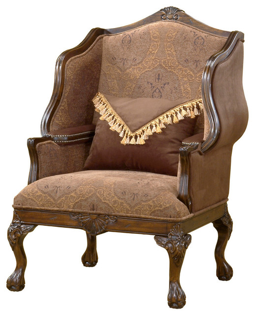 Clearwater American Furnitureu0026#39;s Amberly Accent Chair - Transitional - Armchairs And Accent ...