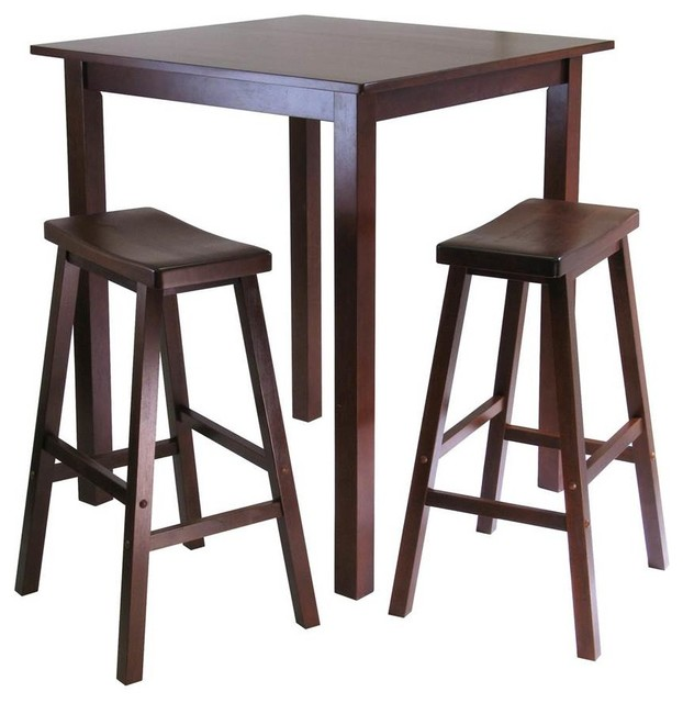 Shop Houzz Winsome Parkland 3 Pc Square Pub Table Set in  : transitional indoor pub and bistro sets from www.houzz.com size 622 x 640 jpeg 60kB