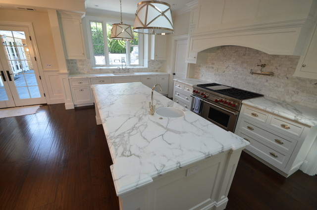 Kitchen Calacatta Traditional San Francisco By