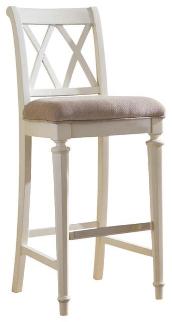 Astounding American Drew Camden Light Barstool Bar Height White Painted Machost Co Dining Chair Design Ideas Machostcouk