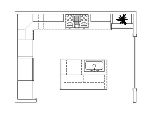 Kitchen layout help needed first time home builder for First time home builder