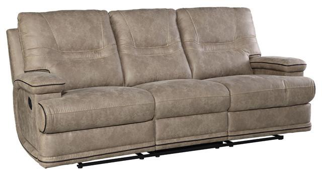 Beau Mckinley Sofa, Manual Motion, Taupe