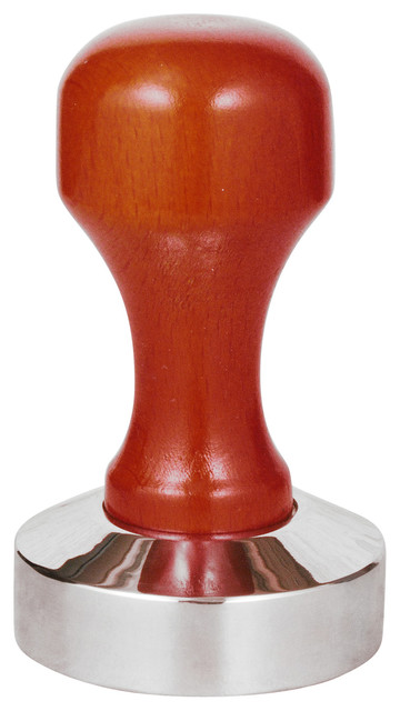 Stainless & Wood Tamper, 53 Mm.