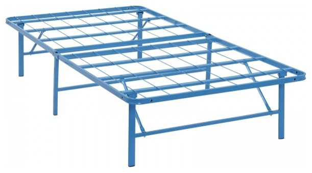 Horizon Twin Stainless Steel Bed Frame Contemporary