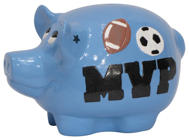 Metrotex designs inc sports piggy bank reviews houzz - Coink piggy bank ...