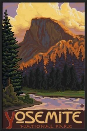 half dome yosemite national park california framed art print contemporary fine