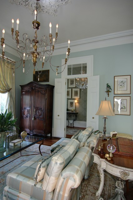 Elegant New Orlean S Living Room Traditional
