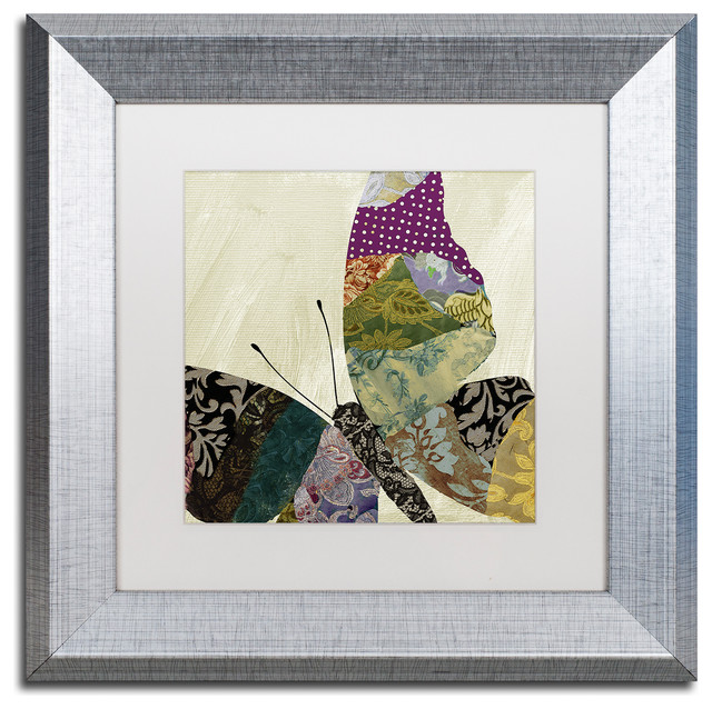 Color Bakery 'Butterfly Brocade I' Art