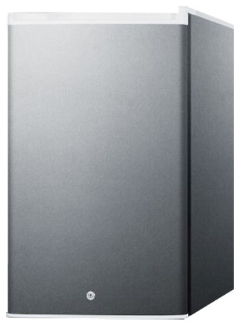 Commercially Approved Countertop All-Refrigerator, Stainless Steel.