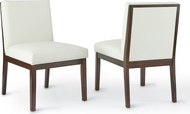 Emma Parsons Chair, Set Of 2, White.