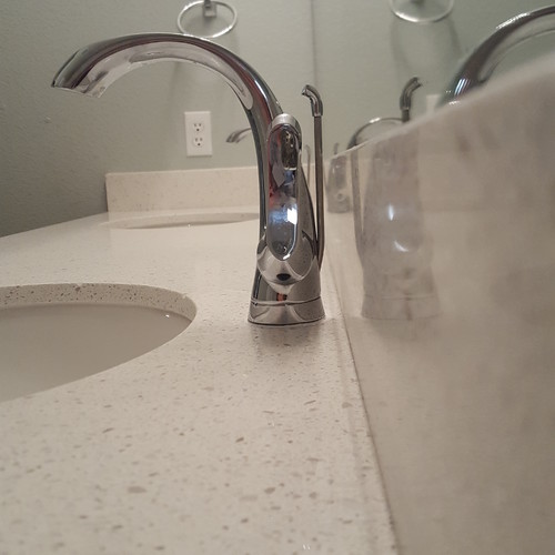 Code Violation Holes For Faucet Drilled Too Close To Wall - How much is a bathroom sink