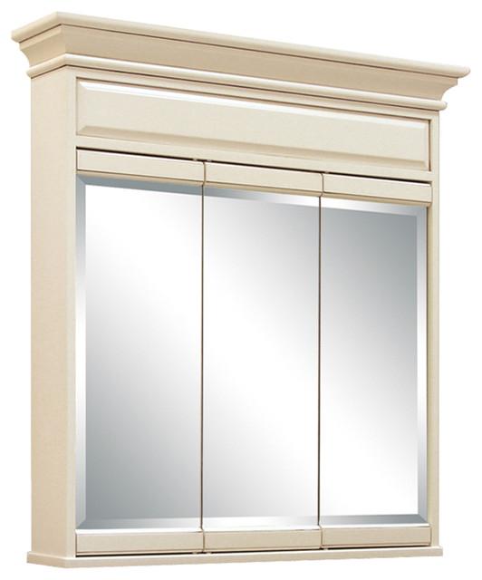 "Claire 3-Mirror Medicine Cabinet, 36""."