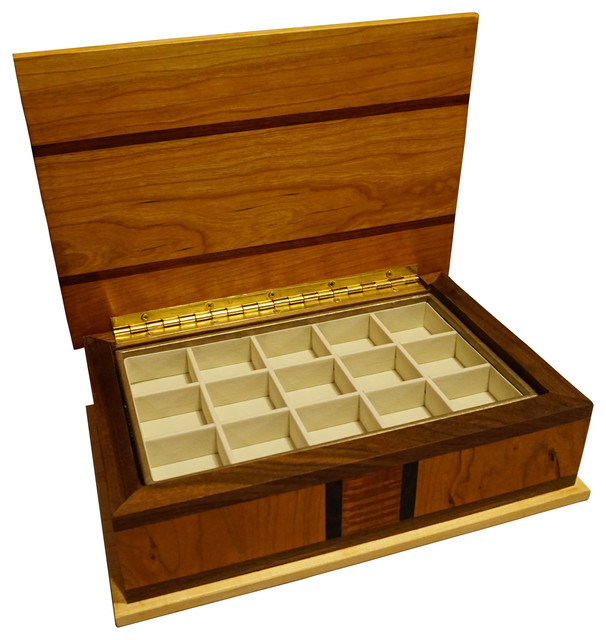 WS Woodmasters LLC - Jewelry Box - View in Your Room! | Houzz