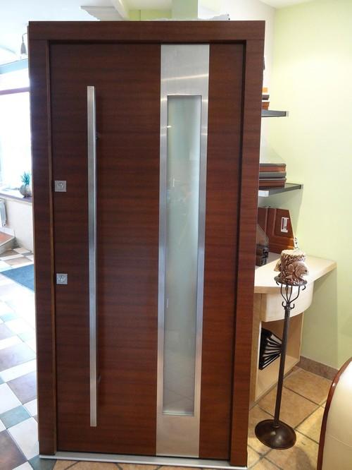 Modern Meranti Wood Exterior Doors * In Stock * SALE Size -- W 42 ...